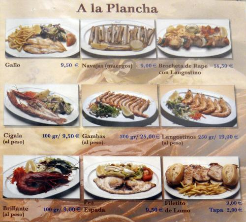 The best seafood ever review of romerijo restaurant in el for Cuisine 0 la plancha