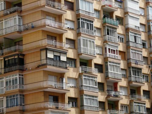 Photo Op: Malaga Apartment Buildings - About Spain Travel