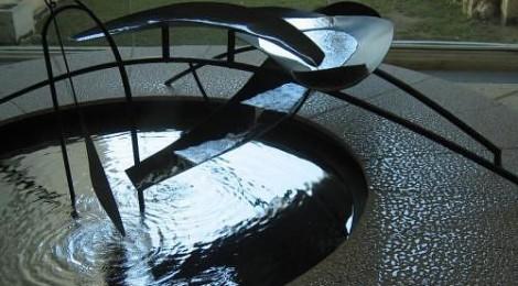 The Miro Museum Fundació Joan Miró contemporary art museum in Barcelona's Montjuic district