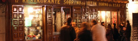 Dine Out at Botin in Madrid