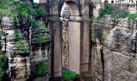The famous bridge of Ronda, Spain - Puente Nuevo