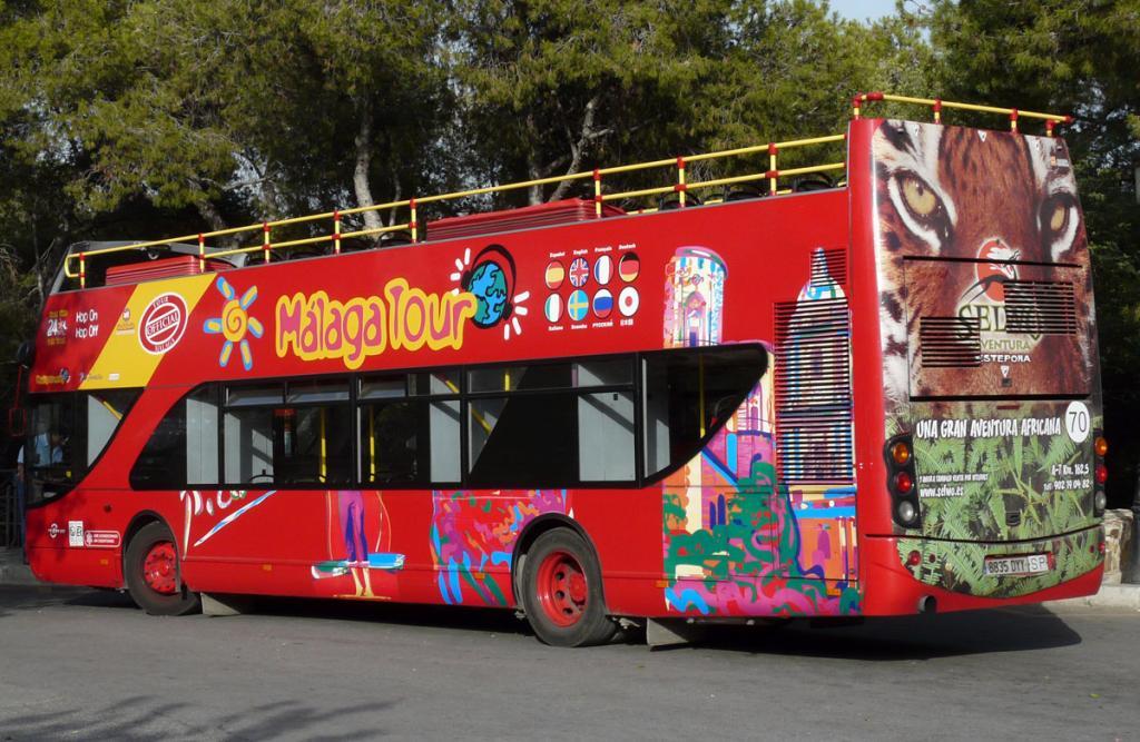 Malaga tourist bus