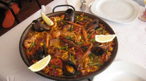 Paella dinner photo