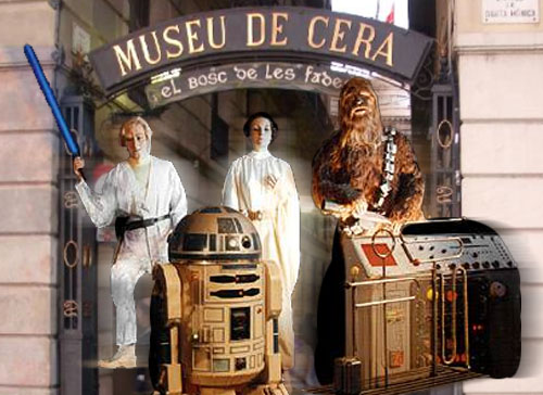 barcelona wax museum - star wars