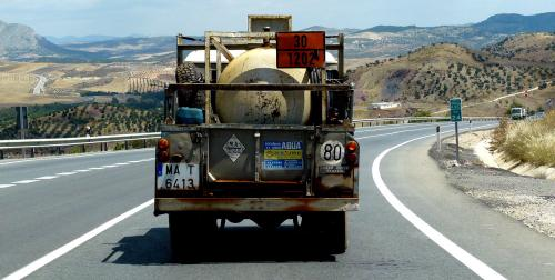 Spain photography tips: watch out for cool trucks