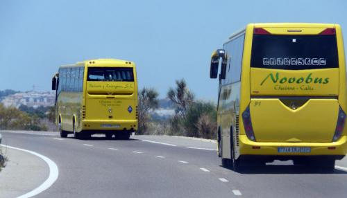Spain photography tips: Spain buses