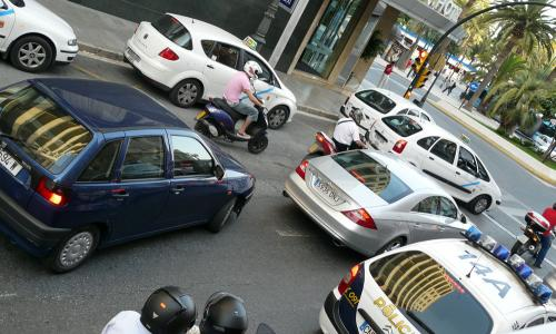 Spain photography tips: traffic jams