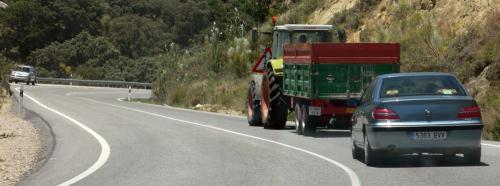 Spain photography tips: farm tractors