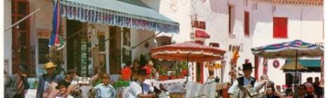 Postcard:  Costa Del Sol Donkey Taxis in Mijas
