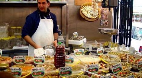 Tip:  Don't eat Spain restaurant food...everyday - Shop for food