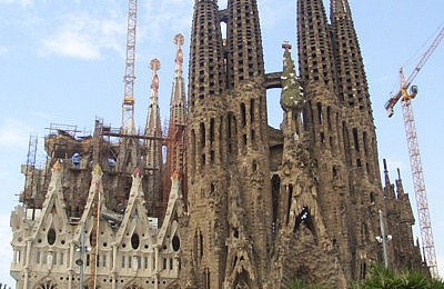 This is the famous church in Barcelona